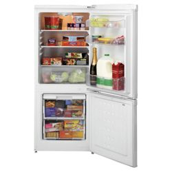 Beko CDA540S Fridge Freezer, Energy Rating A, Width 54.5cm. Silver