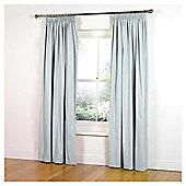 """Tesco Faux Silk Curtains W117xL183cm (46x72""""), Aqua"""