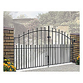 Burbage Manor Ball Double Metal Gate MA13