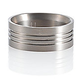 Titanium Gents Ring, U