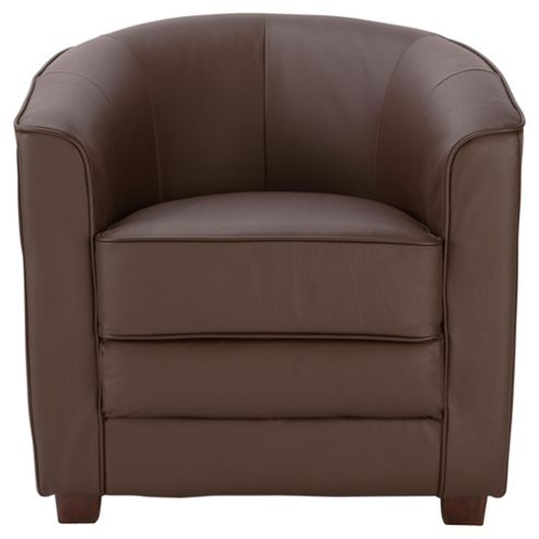 Miami Leather Chair, Brown
