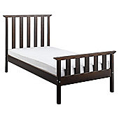 Fairhaven Single Bed Frame, Chocolate