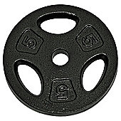 One Body 5Kg Cast Iron Weight