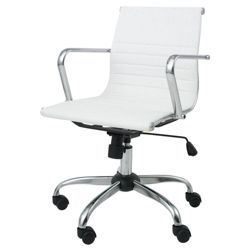 Monroe Office Chair, Ivory