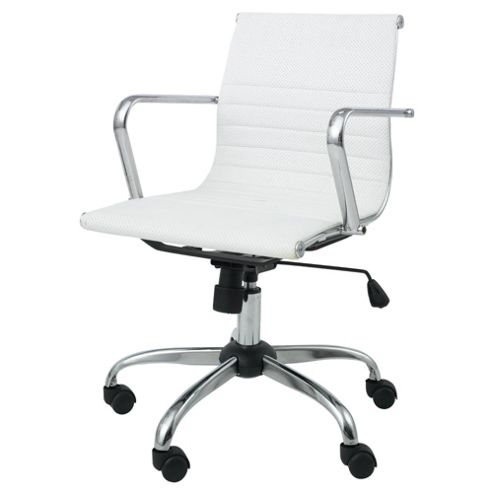 Monroe Ivory Office Chair