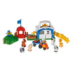 Fisher-Price World of Little People Petting Zoo Set