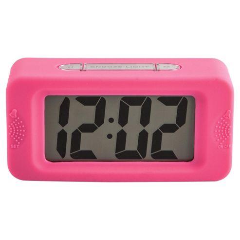 Acctim Vivo Square Clock, Pink