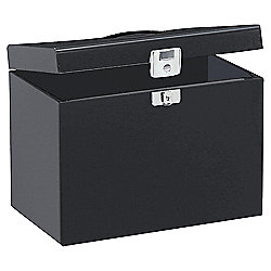 Pierre Henry A4 Metal Box File, Black