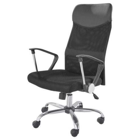 Buy cosmos black office chair from our office chairs range tesco - Tesco office desk ...