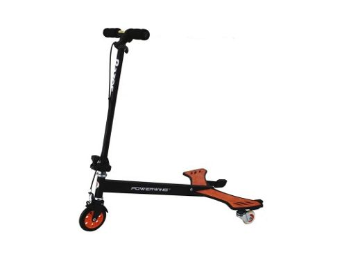 Razor Powerwing 3-Wheel Scooter, Red/black