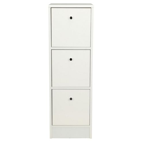 Kensington High Gloss 3 Drawer Unit