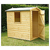 6x4 Finewood Classic Apex Shed With Topcoat