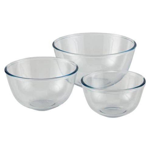 Set of 3 Pyrex Classic Mixing Bowls