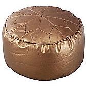 Moroccan Pouffe, Copper