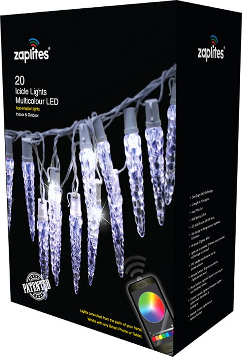 Buy 20 Multi Function Icicle Christmas Lights, Coloured from our All Christmas range - Tesco