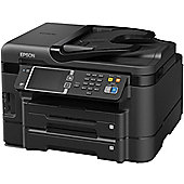Epson WorkForce WF-3640DTWF, All in One Inkjet Colour Printer, A4 - Black (Eligible for up to £30 cashback)