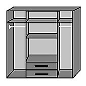 Wimex Duo 4 Door Wardrobe