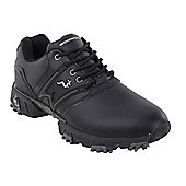 Woodworm Tour Ii Golf Leather Shoes - Black