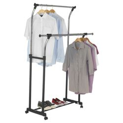 Tesco double garment rail