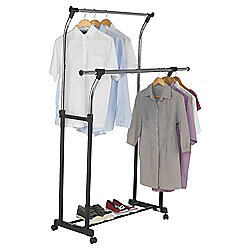 Tesco Double Clothing Rail