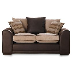 Inca Regular Sofa, Mocha & Cream