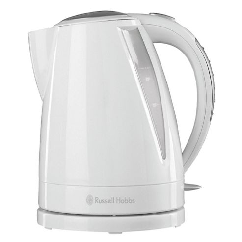 Russell Hobbs Buxton Jug Kettle, 1.6L -  White