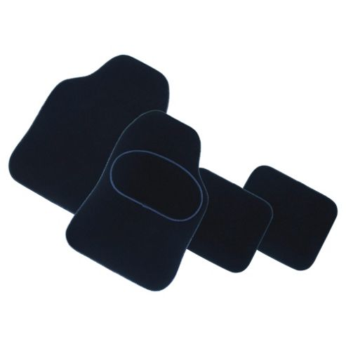 Tesco Premium Car Mats, 4 Set (Carpet)