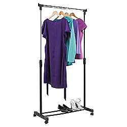 buy tesco stainless steel clothing rail from our garment. Black Bedroom Furniture Sets. Home Design Ideas