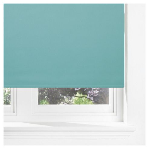 Sunflex Thermal Blackout Blind, Teal 120Cm
