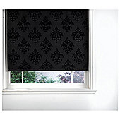 Designed Roller Blind, Regal Black 90Cm