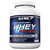 Sci-Mx 100% Ultragen Whey Protein 2.28kg Strawberry