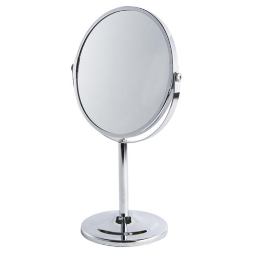 Buy free standing round bathroom mirror from our bathroom mirrors range tesco for Free standing bathroom mirrors