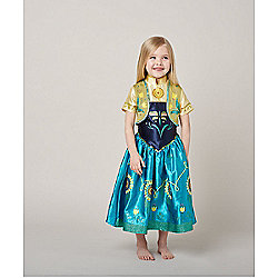 Disney Frozen Fever Anna Dress Up
