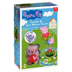 Peppa Pig Tumble & Spin Game
