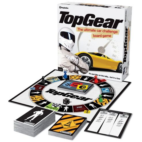 Imagination Top Gear Board Game