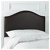 Seetall Laredo Headboard Chocolate Faux Leather Single