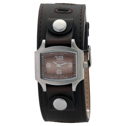 Kahuna Ladies Brown Cuff Strap Watch