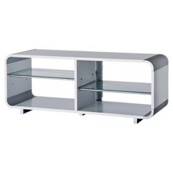 Alphason AUR1100 White TV Stand - For up to 55