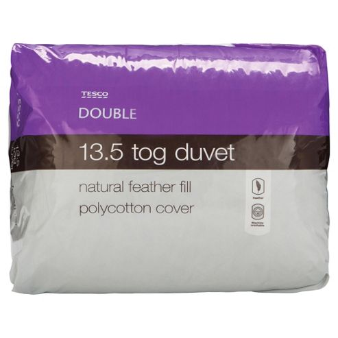Tesco Feather 13.5 Tog Duvet - Double