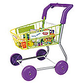 Casdon Little Shopper Pretend Play Shopping Trolley & Food