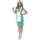 Nurse Scrubs Costume Small
