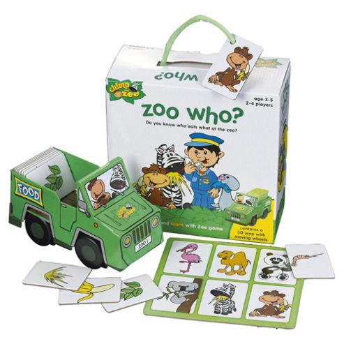 Chimp 'n' Zee Zoo Who game