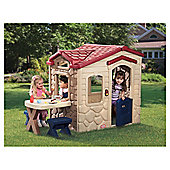 Little Tikes Picnic on the Patio Playhouse, Cream