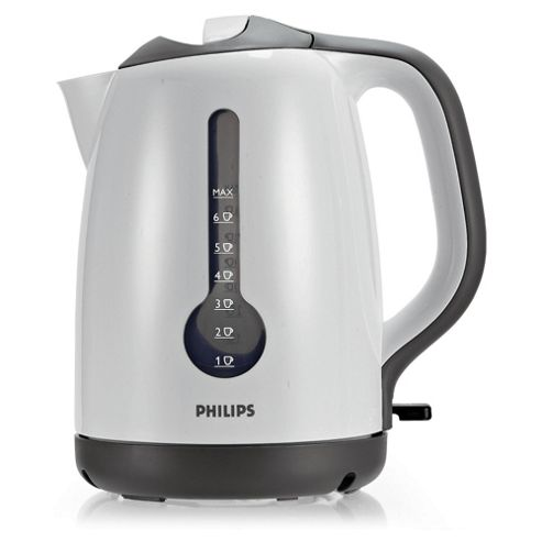 Philips 1.7L Plastic Kettle White