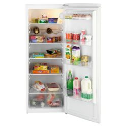 Beko TLDA521W Tall Larder Fridge, Capacity 256 Litres, Energy Rating A, Width 57.5cm. White