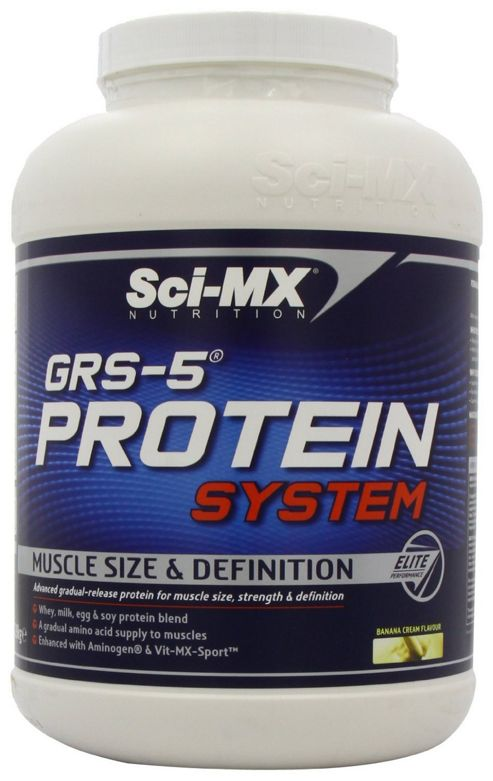 Sci-MX GRS-5 Protein System 228kg Banana
