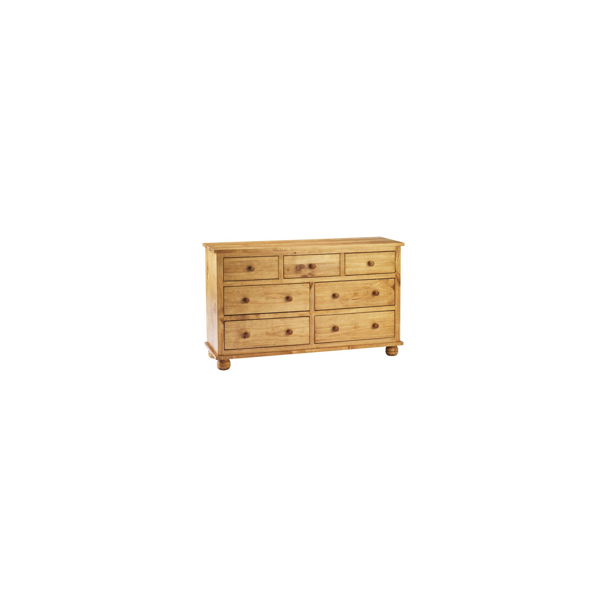 Thorndon Belmont 3 Over 4 Drawer Chest in Wax at Tescos Direct