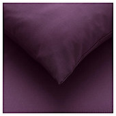 Tesco Fitted Sheet Double , Aubergine