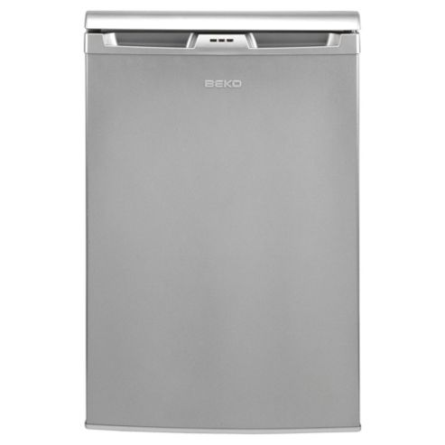 Beko LA620S Undercounter Fridge, Capacity 135 Litres, Energy Rating A, Width 54.5cm. Silver