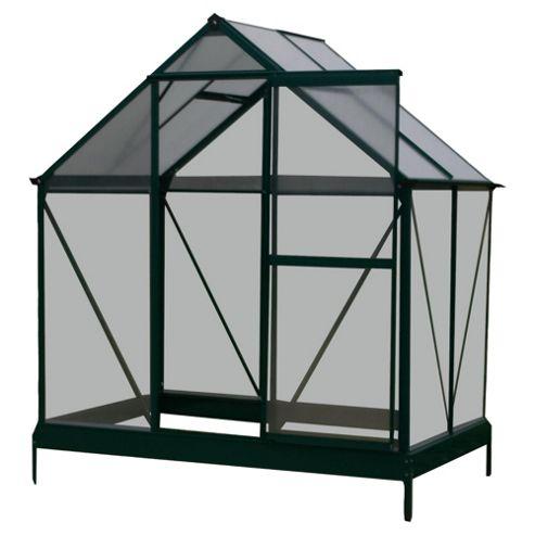 Mercia 4 x 6 Aluminium & Polycarb Greenhouse